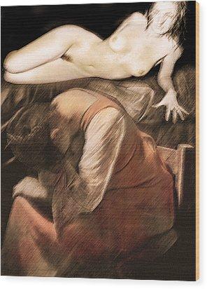 Danse De La Memoire Wood Print by Sandro Rossi