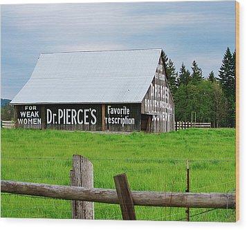 Dr Pierce' Barn 110514.109c1 Wood Print