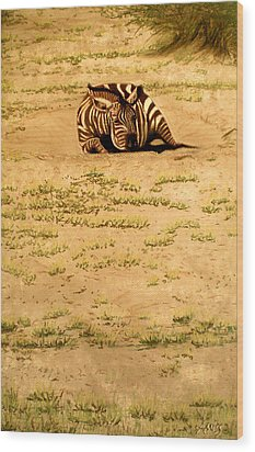 Dust Bowl Wood Print by Jan Amiss