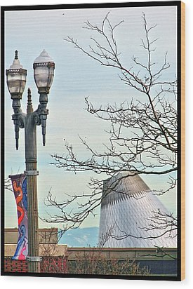 Wood Print featuring the photograph Finial Faux Pas by Chris Anderson