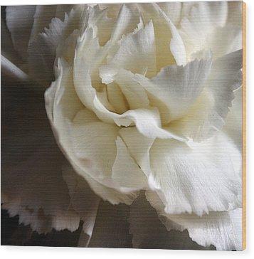 Wood Print featuring the photograph Flower Beauty by Deniece Platt