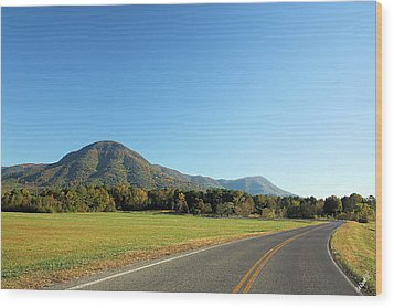 Fort Mountain Wood Print