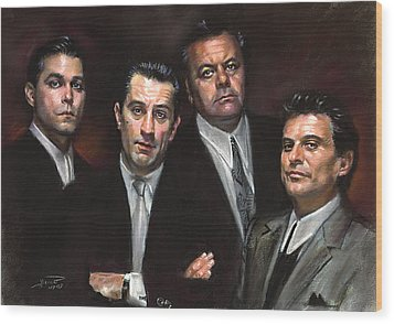 Goodfellas Wood Print by Ylli Haruni