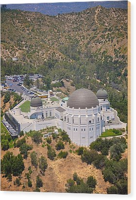 Griffith Observatory Wood Print