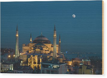 Hagia Sophia Museum Wood Print by Ayhan Altun