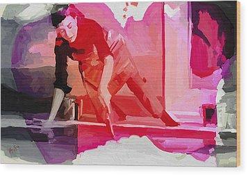 Homage To Helen Frankenthaler 1928 2011 Wood Print