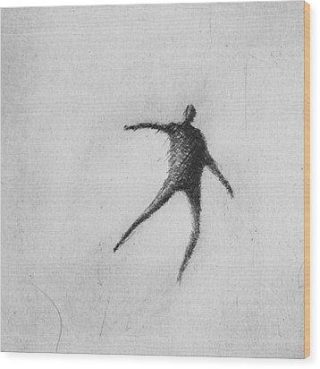 Hop Wood Print by Valdas Misevicius