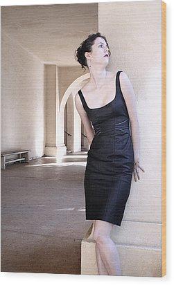 Iona Lynn 1-2 Wood Print by David Miller
