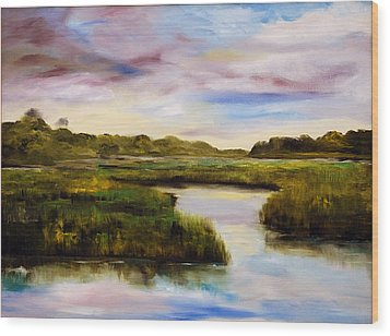 Low Country Wood Print by Phil Burton