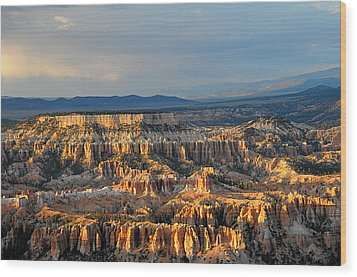 Magical Light At Bryce Canyon  Wood Print