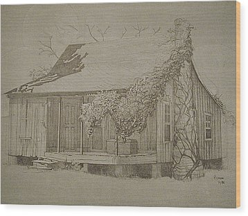 Montgomery County Wood Print by Penny Cash