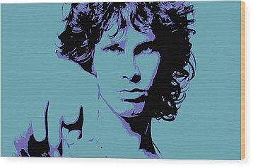Morrison To My Doors Wood Print by Jera Sky