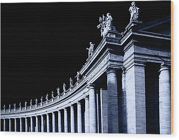 Wood Print featuring the photograph Pillars by Stefan Nielsen