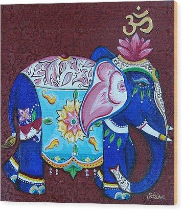 Sandra Kali Wood Print by Sabina Espinet