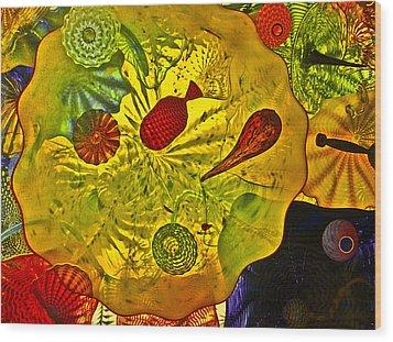Sea Of Glass Wood Print by James Mancini Heath