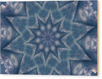 Sky Mandalas 6 Wood Print