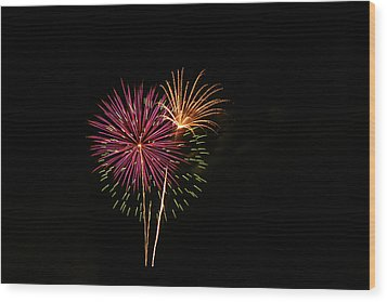 Wood Print featuring the photograph Starburst by Larry Bishop