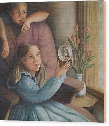 The Gift - Le Cadeau Wood Print