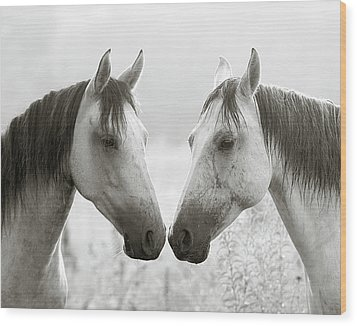 The Greys Wood Print by Ron  McGinnis
