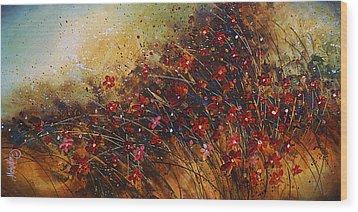 Wild Wood Print by Michael Lang