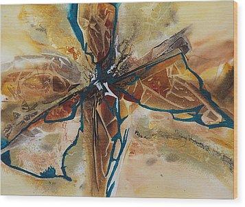 Wind Dance Wood Print by Terry Honstead