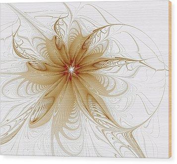 Wispy Wood Print by Amanda Moore