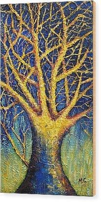 Wonder Tree Wood Print