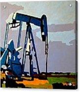 Oil Pump Acrylic Print