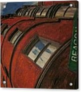 Beacon St Acrylic Print by David Poyant