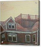 Widows Watch Acrylic Print by David Poyant
