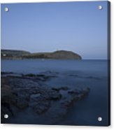 Kimmeridge Bay At Dusk In Dorset Acrylic Print