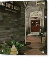 Old South Wharf Acrylic Print by David Poyant