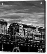 Pan Am Railways 618 616 609 Acrylic Print by Bob Orsillo