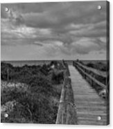 Walk To The Beach Alantic Beaches Nc Acrylic Print