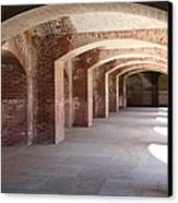 San Francisco Fort Point 5d21545 Canvas Print by Wingsdomain Art and Photography