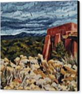 Echoes Of Tularosa, Museum Hill, Santa Fe, Nm Canvas Print