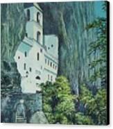 Monastery Ostrog Montenegro Canvas Print