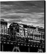 Pan Am Railways 618 616 609 Canvas Print by Bob Orsillo