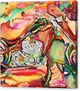 Chameleon Lowrider Canvas Print