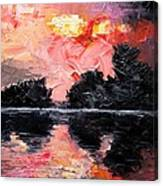 Sunset. After Storm. Canvas Print