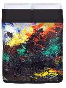 Schizophrenia Duvet Cover by Sergey Bezhinets