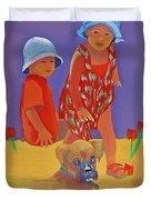 The Boxer Puppy Duvet Cover