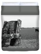 Route 66 - Cadillac Ranch Duvet Cover