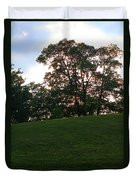 Beautiful Day In The Park Duvet Cover
