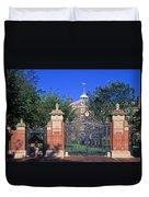 Brown University Duvet Cover by John Greim