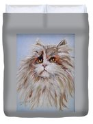 Cat Of Many Colors Duvet Cover