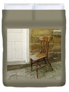 Chair And The Door Duvet Cover