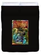 Coffee Goddess Duvet Cover