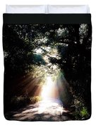 Country Road, Kenmare, Co Kerry, Ireland Duvet Cover by The Irish Image Collection