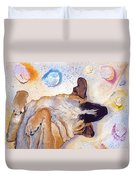Dog Dreams Duvet Cover